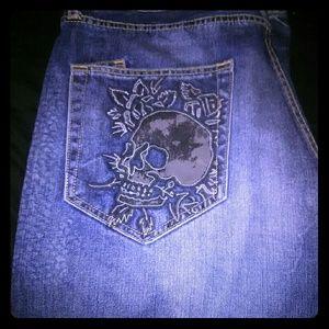 Ed Hardy by Christian Audigier Men's Denim Jeans